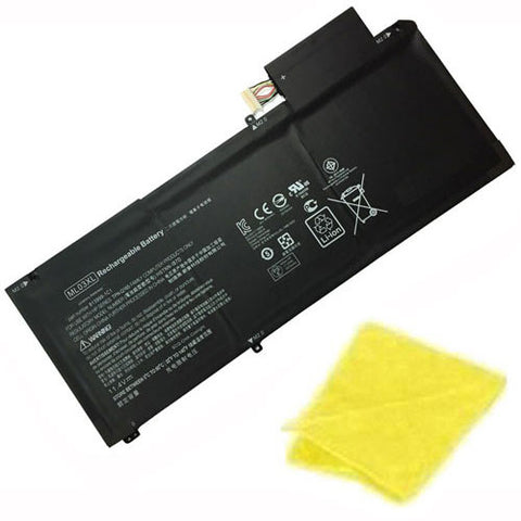 amsahr Replacement Battery for HP ML03XL, HSTNN-IB7D, 814277-005, 813999-1C1, HP Spectre X2 12-a000 12-a001dx (11.4V, 42WH) - Includes Cleaning Cloth.
