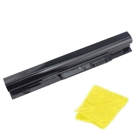 amsahr Replacement Battery for HP MR03, Pavilion 10 TouchSmart Series, 10-e010nr, 10-e019nr, 10-e020ca, 10z-e000 CTO, 10-e004au, 10-e011au (28Wh, 10.8V, 3Cell) - Includes Cleaning Cloth