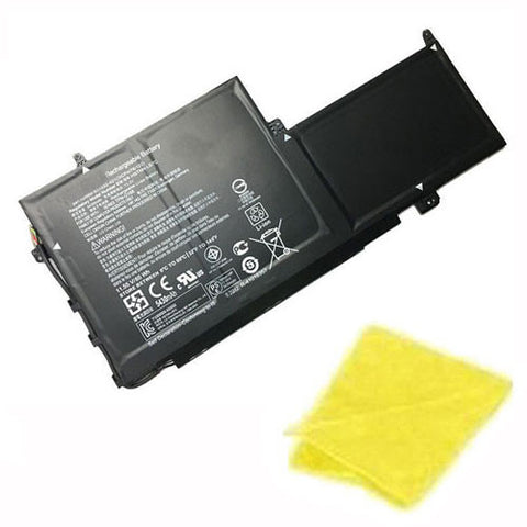 amsahr Replacement Battery for HP PG03XL, PG03064XL, Hp HSTNN-LB7C, 831532-421, 831758-005, TPN-Q168 (11.55V, 65WH) - Includes Cleaning Cloth.