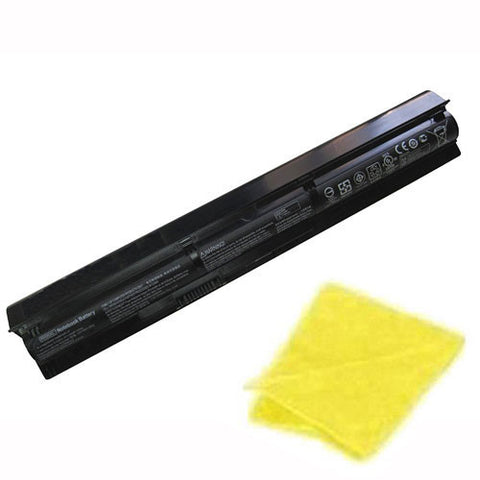 amsahr Replacement Battery for HP RI06XL, HSTNN-LB6Z, 811063-421, 811346-001, RI06055XL, HP ProBook 450 G3, ProBook 470 G3 (10.68V, 55WH) - Includes Cleaning Cloth