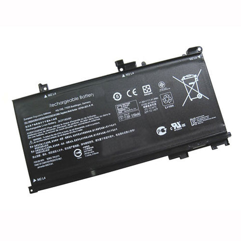 amsahr Extended Performance Replacement Battery for HP TE03XL, Hp TPN-Q173, Hp Pavilion 15 UHD (11.55V, 61.6WH).