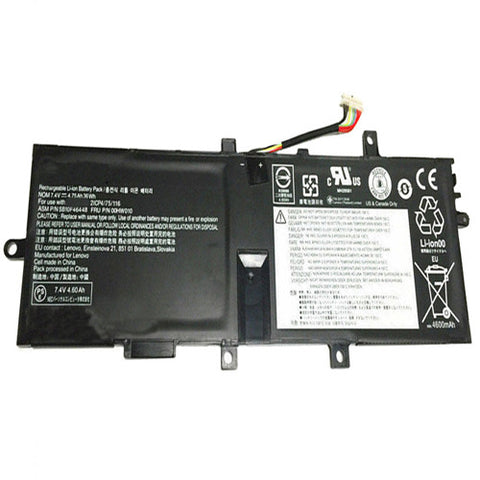 amsahr Extended Performance Replacement Battery for LENOVO 00HW010, SB10F46448, Lenovo Thinkpad Helix 2 Series (7.4V, 36WH, 4600mAh).