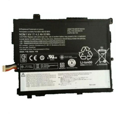 amsahr Extended Performance Replacement Battery for Lenovo 00HW017 (7.5V, 32WH).
