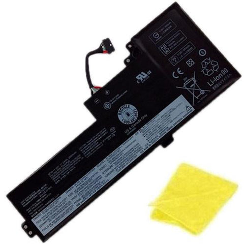 amsahr Replacement Battery for LENOVO 01AV421, Lenovo ThinkPad T470 (11.55V, 24WH, 3cell) - Includes Cleaning Cloth.