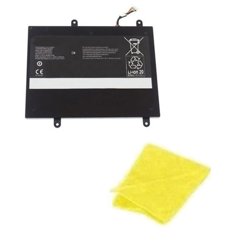 amsahr Replacement Battery for Lenovo 31504999, 3INP6/60/80, 31NP6/60/8 (10.8V, 3750mAh) - Includes Cleaning Cloth