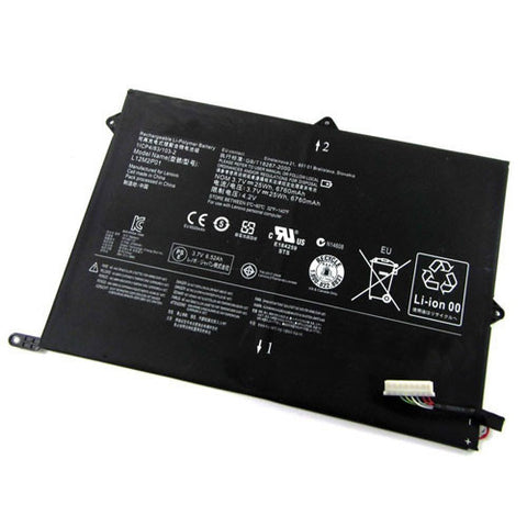 amsahr Superior Quality Replacement Battery for LENOVO L12M2P01, 1ICP4/83/103-2, L12M2P01, 1ICP4/83/103-2, L12M2P01 (3.7V, 6760mAh/25Wh)