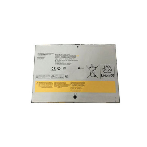 amsahr Extended Performance Replacement Battery for Lenovo L12N2P01, IDEAPAD YOGA 2 11, Lenovo MIIX2 10 SERIES, Lenovo 1ICP4/83/102-2 (3.75V, 6700mAh, 2Cell)