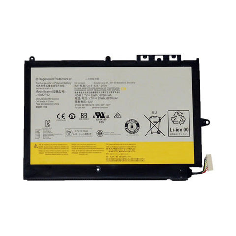 amsahr Superior Quality Replacement Battery for LENOVO L13M2P22, MIIX2 10 INCH, MIIX2 10-ZTH, LENOVO 1ICP4/83/103-2, L13N2P21 (3.7V, 6760mAh/25Wh, 2-Cell)