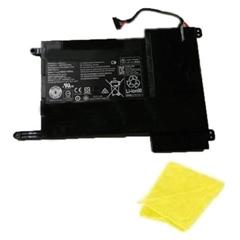 amsahr Replacement Battery for LENOVO L14S4P22, IDEAPAD Y700-15-IFI, IDEAPAD Y700-ISE, IDEAPAD Y700-15ACZ, 5B10H22086 (4050mAh/60WH, 14.8V) - Includes Cleaning Cloth