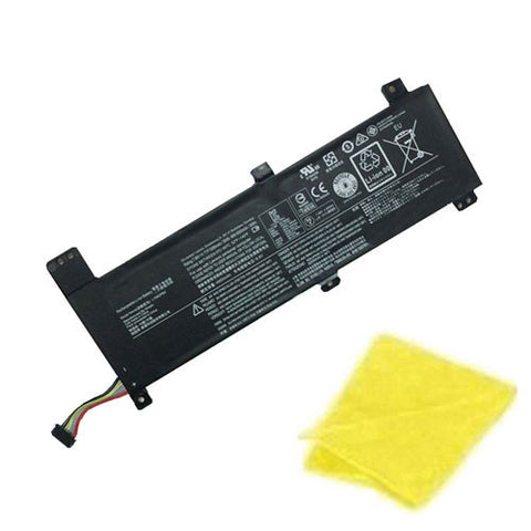 amsahr Replacement Battery for LENOVO L15M2PB4, L15M2PB2, B10K87722, 5B10K87714, L15M2PB3 (7.68V, 30WH, 5080mAh) - Includes Cleaning Cloth.