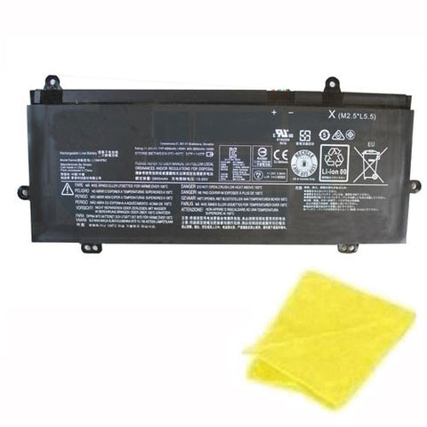 amsahr Replacement Battery for LENOVO L15M3PB2, 5B10K90780, 5B10K90783, L15C3PB0, Winbook N22 (11.25V, 45WH, 4000mAh) - Includes Cleaning Cloth.
