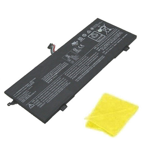 amsahr Replacement Battery for LENOVO L15M4PC0, Ideapad 710S-13ISK, xiaoxin Air 13 Pro, IdeaPad 710S-13ISK-ISE, IdeaPad 710S, Air 13 Pro  (7.5V, 46WH) - Includes Cleaning Cloth