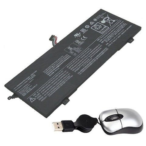 amsahr Replacement Battery for LENOVO L15M4PC0, Envy x360 m6-w010dx, Ideapad 710S-13ISK, xiaoxin Air 13 Pro, IdeaPad 710S-13ISK-ISE, IdeaPad 710S,Air 13 Pro  (7.5V, 46WH)- Includes Mini Optical Mouse