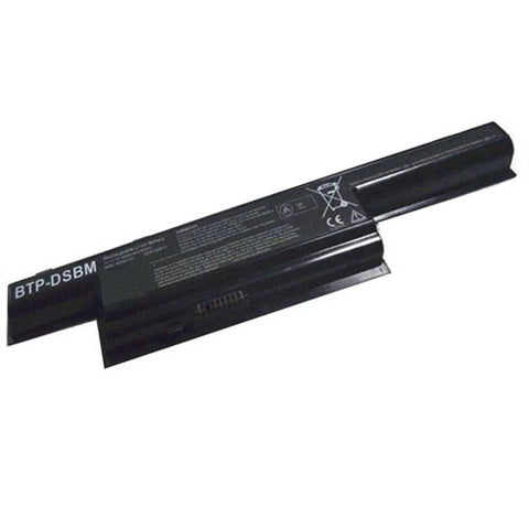 amsahr Extended Performance Replacement Battery for Medion BTP-DTBM 3ICR19/65-2 (11.1V, 5000mAh, 6-Cell)