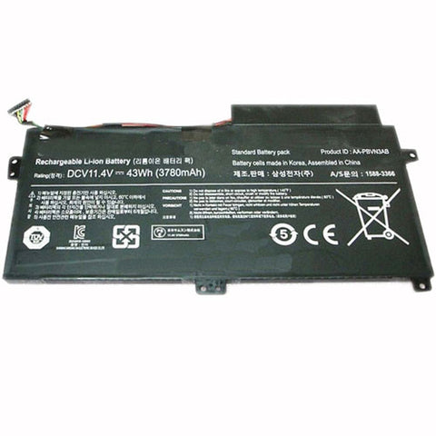 amsahr Superior Quality Replacement Battery for SAMSUNG AA-PBUN3AB, AA-PBUN3QB, BA43-00379A (11.4V, 43WH)