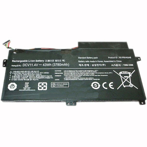amsahr Extended Performance Replacement Battery for SAMSUNG AA-PBUN3AB, AA-PBUN3QB, BA43-00379A (11.4V, 43WH)