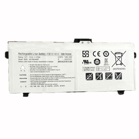 amsahr Superior Quality Replacement Battery for SAMSUNG AA-PBUN4NP, NP940Z5J Laptop (15.2V, 57WH)