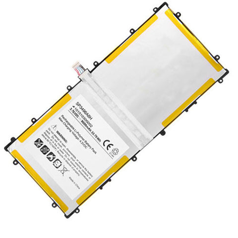 amsahr Extended Performance Replacement Battery for SAMSUNG GT-P8110, BA43-00292A, 900X1AA01US, 900X3A-B02US, A02, B04CH, 900X1B-A02, 900X3A-A02US, 900X3AB01, A02 (3.75V, 9000MAH)
