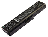Amsahr 100% Compatible Non-OEM Replacement Durable Laptop Battery for Toshiba Satellite A665,PA3634U M800 L300 U400 U405 C650 Series with Rechargeable and No Memory Effect and Power Surge Protection