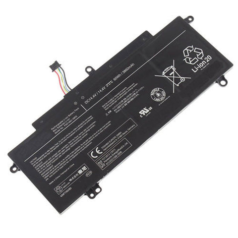 amsahr Extended Performance Replacement Battery for TOSHIBA PA5149U-1BRS, 4INP7/60/80, (02)1588-5898 (14.4V, 60Wh)