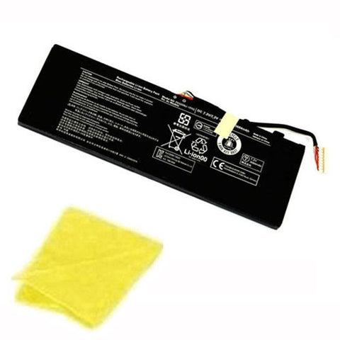 amsahr Replacement Battery for TOSHIBA TSHPA5209U-1BRS, P000627450 (7.2V, 28Wh) - Includes Cleaning Cloth