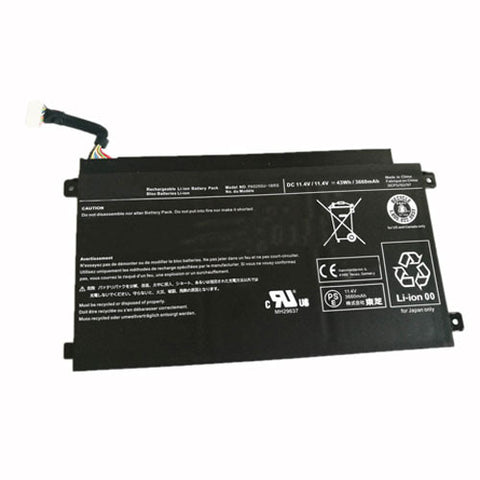 amsahr Extended Performance Replacement Battery for TOSHIBA PA5255, PA5255U-1BRS (11.4V,43WH, 3660 mAh)