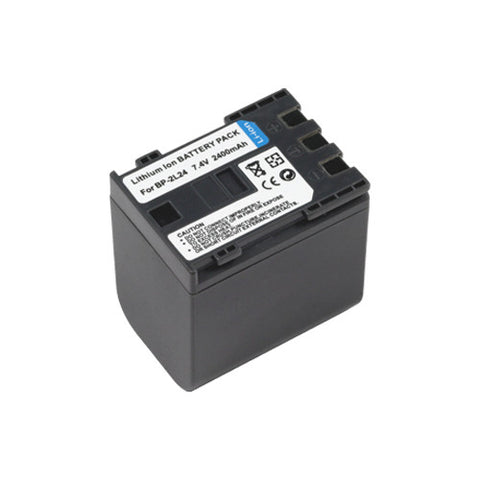 Amsahr Extended Performance Replacement Digital Camera and Camcorder Battery for Canon BP: 2L24, Elura: 50, DV-FVM: 20, 100, MV: 5i, 5iMC, M3 MVX: 20i