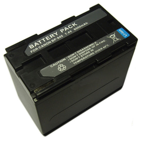 Extended Performance Replacement Digital Camera and Camcorder Battery for Canon BP-911, BP-911K, BP-914, BP-915, BP-915L, BP-924, BP-927, BP-930, BP-941, BP-945, C2, E1, E2, E30, E65AS, ES-300V, ES-55