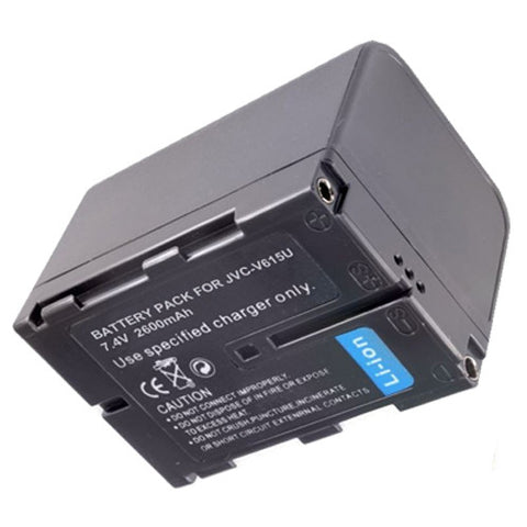 Amsahr Extended Performance Replacement Digital Camera and Camcorder Battery for JVC BN-V615, BN-V615U, BN-V607, BN-V607U, GR: DV3, DV3U, DV808, DV808U