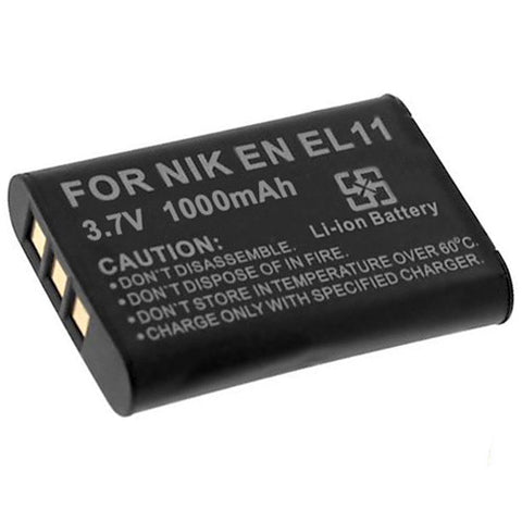 Amsahr Extended Performance Replacement Digital Camera and Camcorder Battery for Nikon EN-EL11, Ricoh DB-80, Sanyo DB-L70, Nikon Coolpix S550, Coolpix S560
