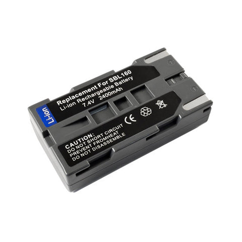 Amsahr Extended Performance Replacement Digital Camera and Camcorder Battery for Samsung SB-L160, SBL160, VP-L500, SC-L907, VP-L800, VP-L850, VP-L870