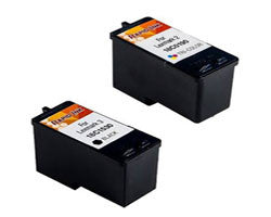 Amsahr Lexmark 18C1530, X2580 Remanufactured Replacement Ink Cartridges - Includes Set of 2: 1 Black and 1 Color Ink Cartridges