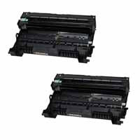 Amsahr Brother 8910DW, 8950DW, 8950DWT Compatible Replacement Toner Drums - Includes TWO BLACK Drumsss