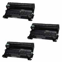 Amsahr Brother 8910DW, 8950DW, 8950DWT Compatible Replacement Toner Drums - Includes THREE BLACK Drumsss