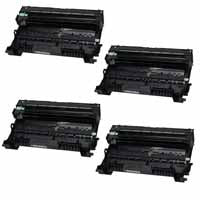 Amsahr Brother 8910DW, 8950DW, 8950DWT Compatible Replacement Toner Drums - Includes FOUR BLACK Drumsss