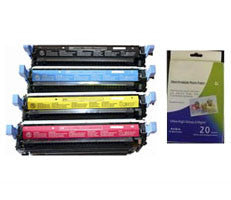 Amsahr HP Q6460A, Q6461A, Q6462A Remanufactured Replacement Toner Cartridge - Includes 1 Set of BLACK, MAGENTA, YELLOW and CYAN Cartridges.