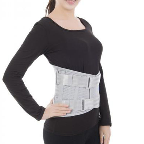 Amsahr Knitted Waist Protector Brace Medical Elastic Lumbar Corset Reducing The Pain of The Waist - Small - 75-85cm (Waist circumference)