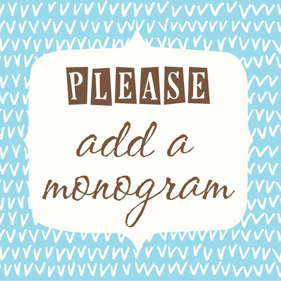 Monogram add on