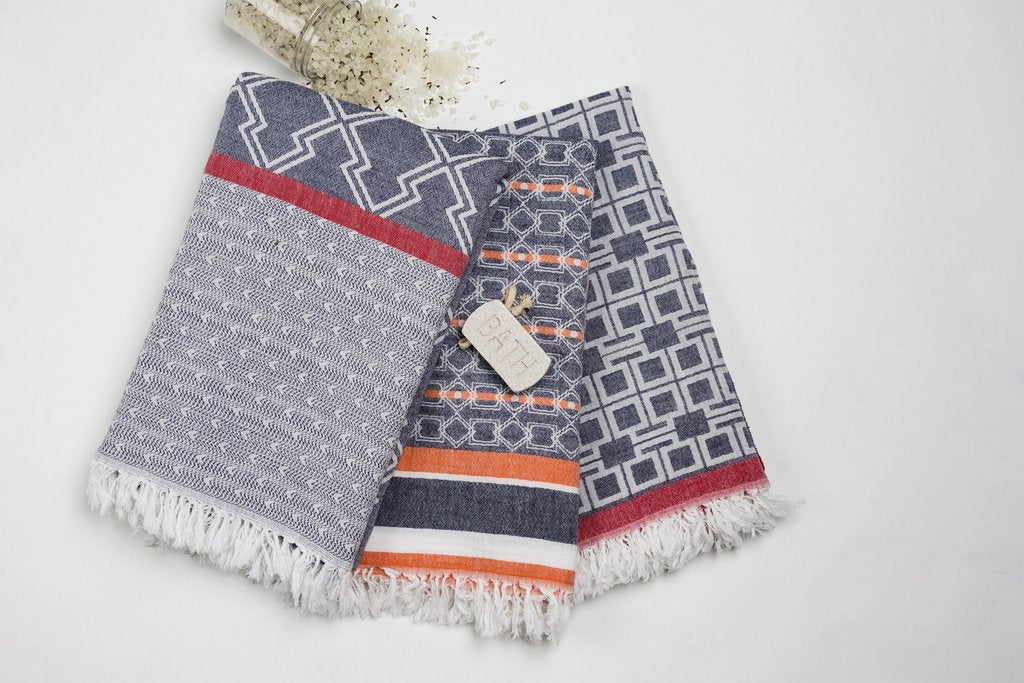 Turkish cotton towels Via Seven