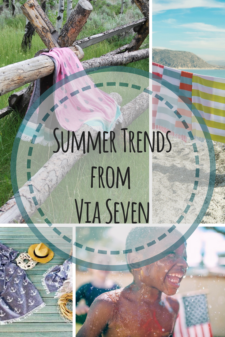 Summer trends from Via Seven, shop our top selling #turkishcotton #peshtemals to add color to your summer collection.