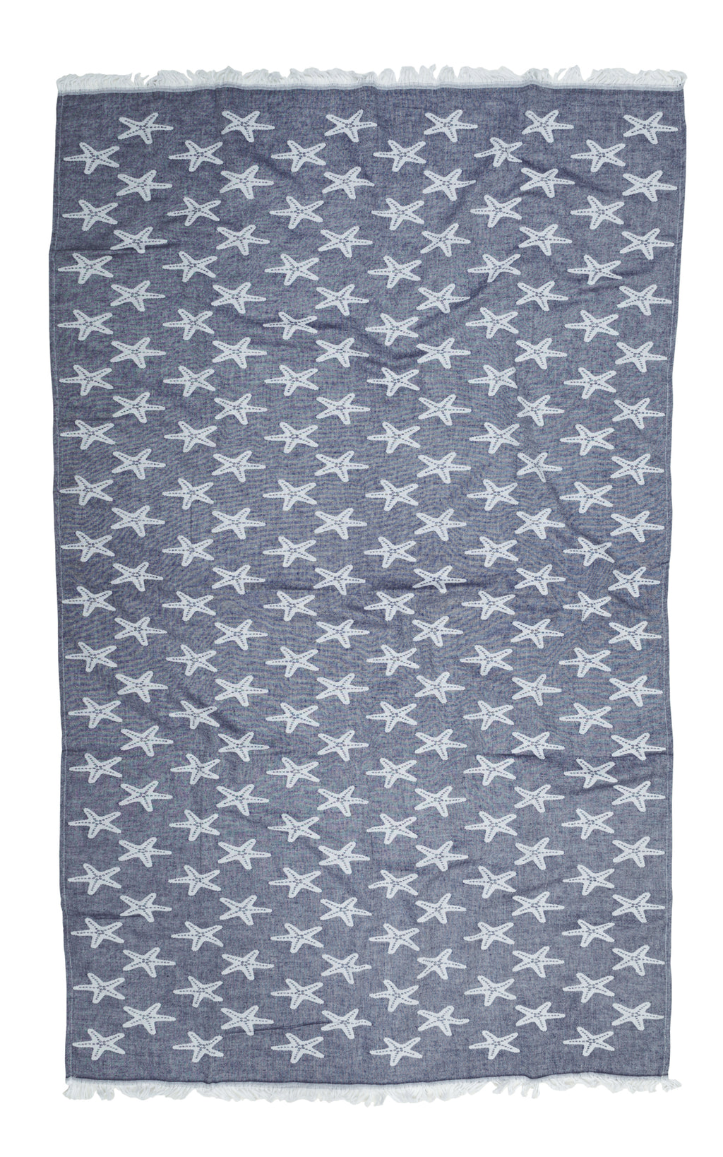 Starfish Under the Ocean Towel
