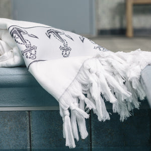 Anchors Away Bath Towel