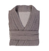 Cloud Cotton Unisex Bathrobe - Dark Grey