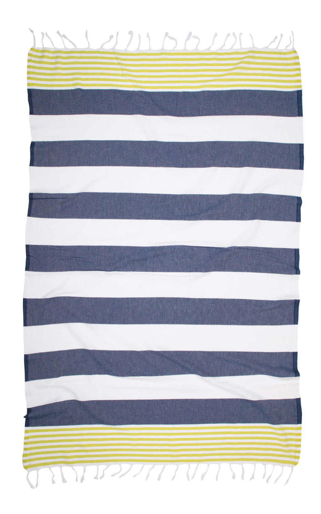 Journey Towel - Green Indigo