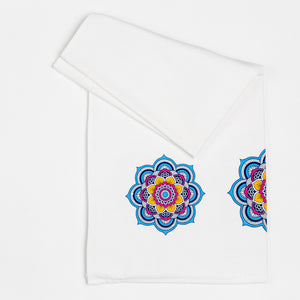 Gift Set - Mia Mandala Towel Set (one bath towel and one hand towel)