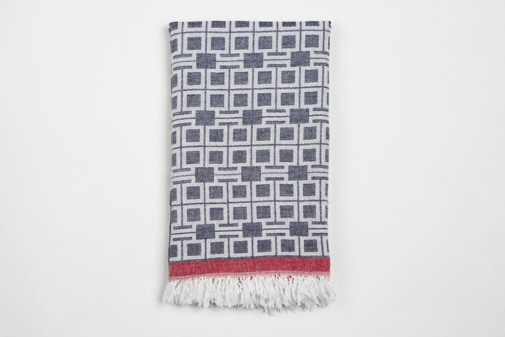Bright Bricks Towel