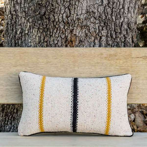 Day and Night Handmade Decorative Pillow