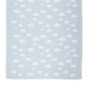 Happy Rain Baby Throw