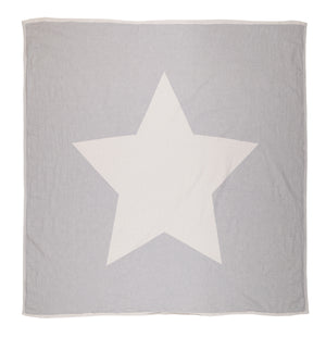 guiding star, kids, throws, gifts, blanket, grey, boy, girl, stars, star