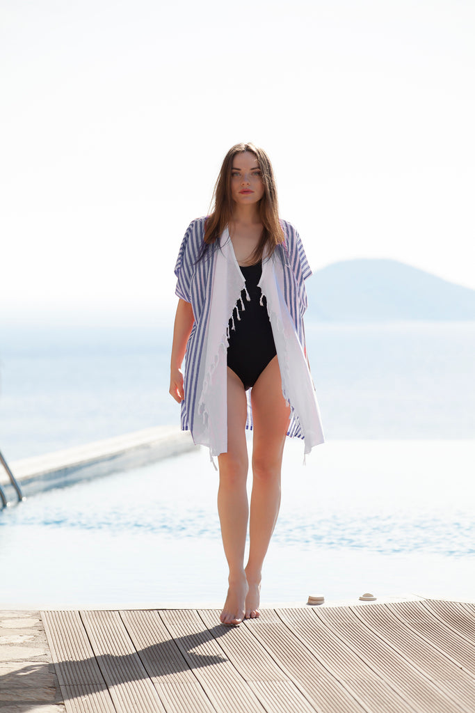 Walk at the beach Kimono